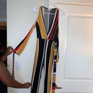Color block jumpsuit